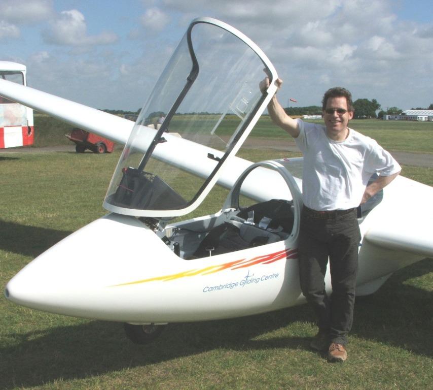 Tony ready to fly